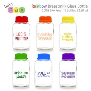 Baby Pax Rainbow Bottle / Botol Asi Babypax Rainbow