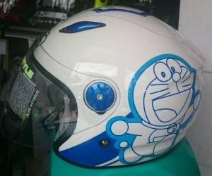 Helm BMC Milan Doraemon Putih