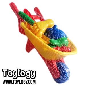 Sand Beach Toys Set ( Mainan Gerobak Perlengkapan Cetak Pasir )