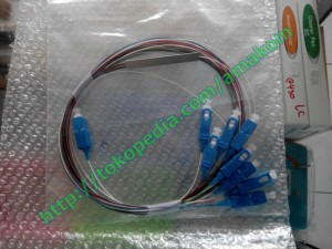 Splitter/Coupler Fiber Optic, 1 To 8 Core (FC, SC)