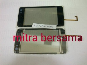 TOUCHSCREEN NOKIA N900 BLACK