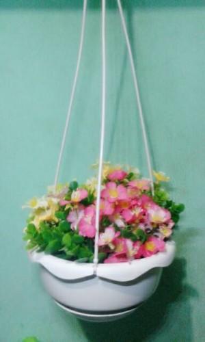 pot bunga plastik/artificial