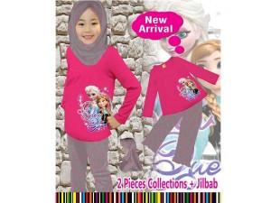 harga SALE Setelan Gamis Frozen 3007 | 2 - 7 Tahun | Baju Anak Tokopedia.com