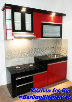 Kitchen set minimalis berlian