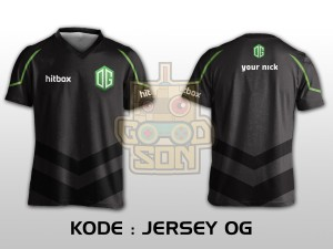 JERSEY / KAOS TEAM GAMING DOTA 2 OG
