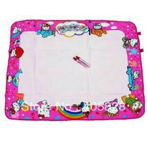 harga Papan Tulis Kain Aquadoodle Large Hello Kitty + 2 spidol isi air Tokopedia.com