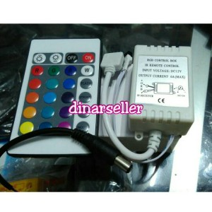FLASHER DIMMER FLEXIBLE STRIP LED 5050 / 3528 + REMOTE CONTROL