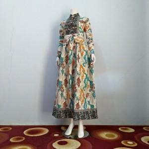 Gamis Batik / Dress Panjang / Design Elegan Produksi Limited MGA Tosca