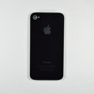 online retailer 7b30a c41c9 Jual Back case / battery Cover Iphone 4S Black - Rapido Mobile   Tokopedia