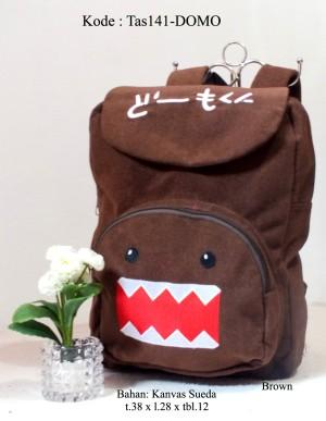 Tas Ransel (Backpack)/ Tas Karakter / Tas Sekolah&Kuliah / Tas141-Domo