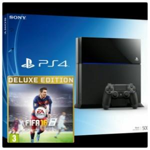 harga PS4 500GB CUH-1206A Bundle FIFA 16 Deluxe Edition Tokopedia.com