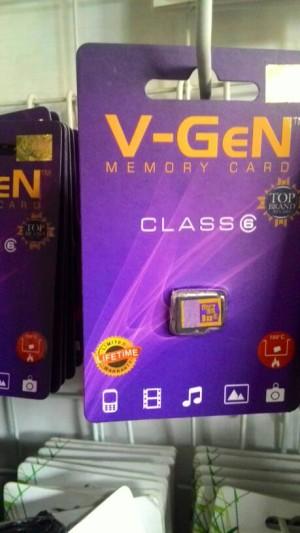 harga memori v-gen 8gb class 6 Tokopedia.com