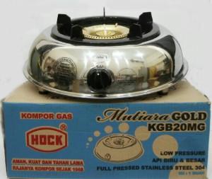 Hock kompor gas mutiara gold KGB20MG