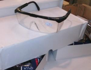 Kacamata Safety / Safety Glasses IMPORT Untuk LAS