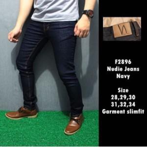 F2896 Celana Panjang Nudie Jeans Navy