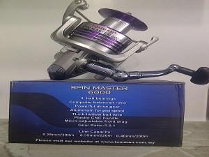 harga Reel Toman Spin Master 6000 Tokopedia.com