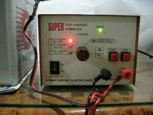 Charger Accu SUPER FAST Otomatis Cut Off 12V 15 Ampere (Motor&Mobil)