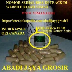jual suplemen pria vimax izon ori canada 30 caps 3 d holo tembus