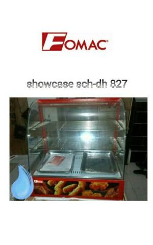 Show case fomac shc-dh 827 / etalase makanan sekaligus penghangat
