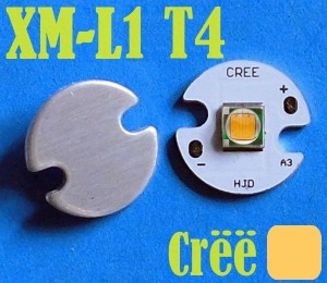 harga CREE XM-L2 T4 LED WARM Emitter USA 16mm Aluminium Base Tokopedia.com