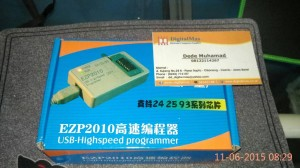 Ezp2010 +adapter sop8 satu set