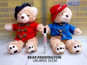 harga Boneka Teddy Bear Baju Merah Paddington Movie Import Tokopedia.com