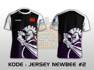 JERSEY / KAOS TEAM GAMING DOTA 2 NEWBEE 2