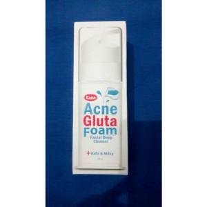 Acne gluta foam kana 100% 0ri bekas Rp.190.000