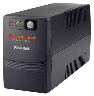 PROLINK PRO700SFC 650VA UPS WITH AVR SUPER FAST CHARGING