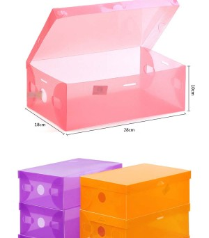 harga KOTAK SEPATU SANDAL TRANSPARAN SHOE BOX TEMBUS PANDANG SHOES PLASTIK Tokopedia.com