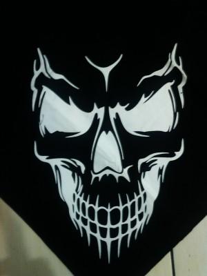 harga Slayer Face Tengkorak Hitam [Model Baru] Tokopedia.com