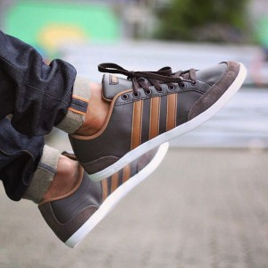 Adidas Neo Caflaire Dark Brown
