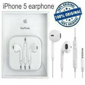 Earphone Headset Iphone 5 /5s / 6 ( ORIGINAL 100% )