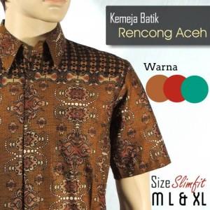 harga [RENCONG ACEH] Kemeja batik pria terbaru murah Tokopedia.com