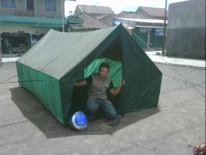 Tenda pramuka ukuran 3x4