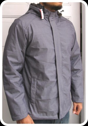 jaket outdoor bahan katun coating waterproof (anti air) size XXL