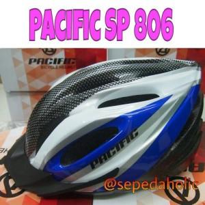 Helm sepeda Pacific SP 806 biru tua