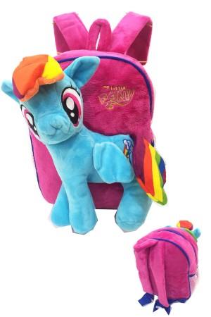harga Tas Ransel Sekolah Anak TK My Little Pony Boneka Timbul Tokopedia.com