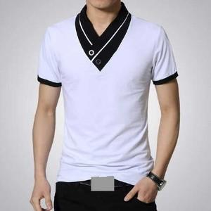 Jual K Grey Baju Kaos Cowok Pria Model Korea Keren Murah