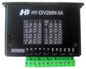 TB6600 5A / 48V max stepper motor driver (aluminum box)