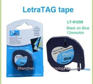 harga Label Letratag Dymo Biru - Blue Plastic Tapes for LetraTag Tokopedia.com