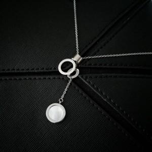 harga kalung wanita bvlgari K004 ( swarovski cincin gelang liontin mutiara ) Tokopedia.com