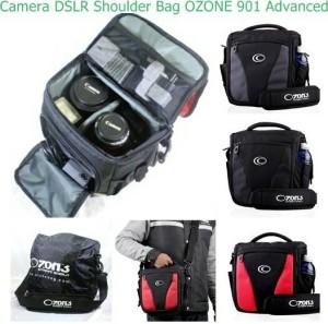 Tas Kamera Camera DSLR Bag Ozone 901 Advanced + Raincover [ MERAH ]