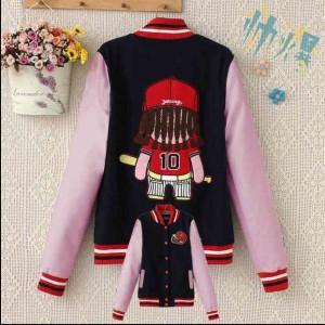 harga Jaket Baseball (hitam-pink) | Jaket Cewe | Baju Cewe | Baju Korea Tokopedia.com