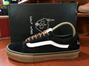 Sepatu vans os golf wang original waffle ICC BNIB