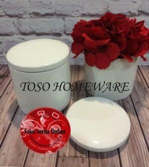 harga Toples Keramik, Tempat Teh Gula, Sugar Spice Jar, Tempat Bumbu Tokopedia.com