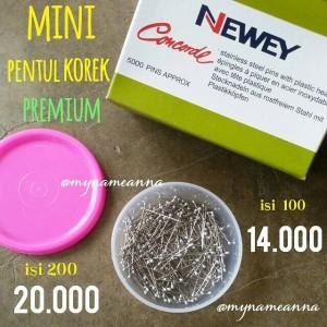 harga ISI 200 Mini Jarum Pentul Korek Wijen Premium Newey Concorde Tokopedia.com