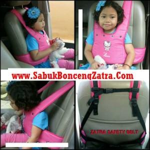 Sabuk Pengaman anak di Mobil bisa untuk Motor & gendongan Zatra