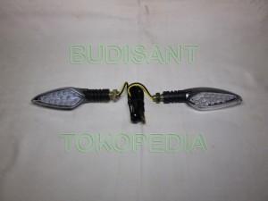 harga Lampu Sen LED Vixion CB150R Byson R15 Mega Pro Scorpio Verza Tiger Tokopedia.com