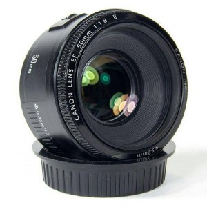LENSA FIX CANON EF 50MM F/1.8 II (FREE UV FILTER)